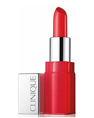 Clinique Pop Glaze Sheer Lip Color + Primer, No. 03 Fireball Pop, 0.13 Ounce