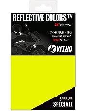 VFLUO 3M REFLECTIVE COLORS™, retroreflecterende folie om uit te snijden voor motor-, scooter-, fiets- en multifunctionele helmen, 3M Technology™™, 10 x 15 cm