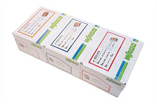 wago 50 222 412 50 222 413 40 222 415 lever nut assortment pack. Black Bedroom Furniture Sets. Home Design Ideas