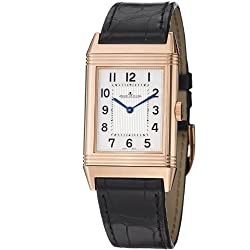 Jaeger LeCoultre Grande Reverso Ultra Thin Silver Dial Leather Watch Q2782520