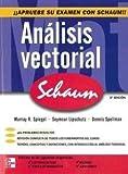 img - for Analisis Vectorial Serie Schaum. El Precio Es En Dolares book / textbook / text book