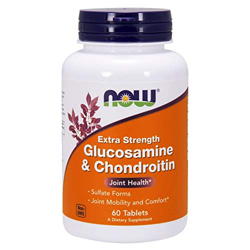(Now Supplements, Glucosamine & Chondroitin Extra Strength, Sulfate Forms, 60)
