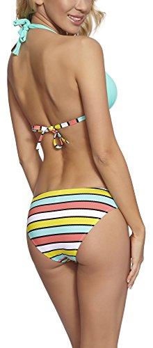 Feba Push Up Bikini conjunto para mujer Margaret Modelo-22DK
