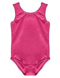 Dancina Girls' Leotard Tank Top Cotton and Spandex