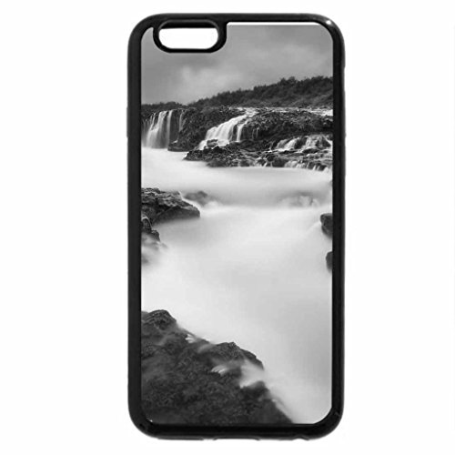 iPhone 6S Case, iPhone 6 Case (Black & White) - breathing_river