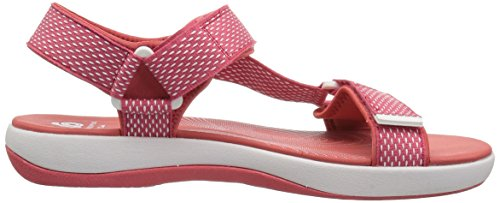 clearance exclusive CLARKS Women's Brizo Cady Flat Sandal Coral free shipping view release dates big sale RGhvhx