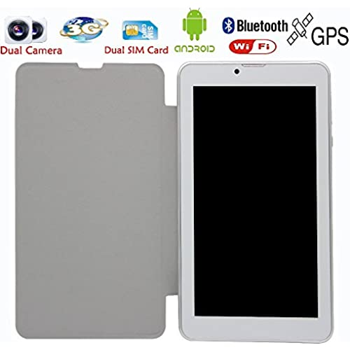 7 Inch Leather Holeter 3G Phone Call Android Tablets Pc Wifi Gps Bluetooth Fm Dual Core Dual Camera Dual Sim Card^.Red Coupons