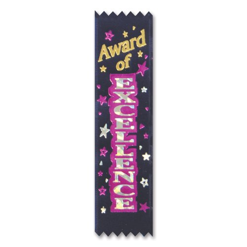 Beistle VP008 Excellence Ribbons 30 Pack