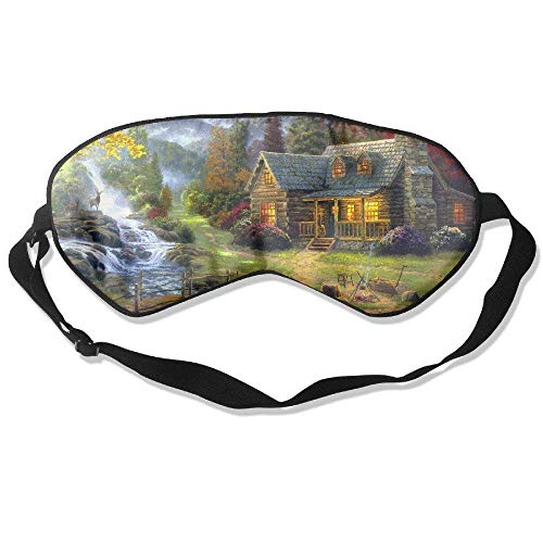 Elks Livingg in Village of Dorset 99% Eyeshade Blinders Sleeping Eye Mask Blindfold for Travel Insomnia Meditation (Best Villages In Dorset)