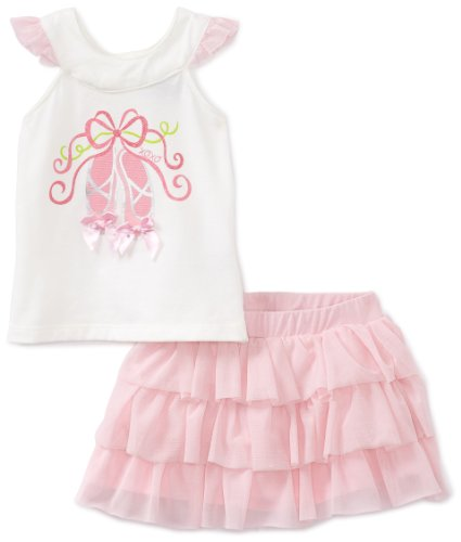 Xoxo Baby Girls' Vanilla Shoes Skooter Set, Pink, 18 Months