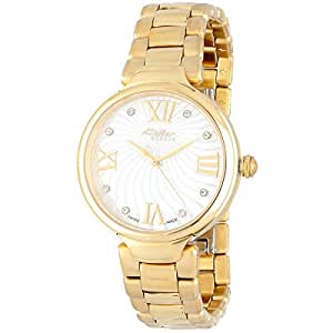 Kolber Stars Women's White Mother of Pearl Dial Stainless Steel Band Watch - K1084221859