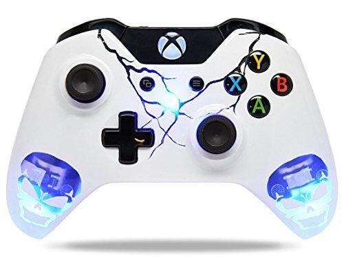 Skulls-Blue-Xbox-One-Custom-UN-MODDED-Controller-Exclusive-Illuminating-Design