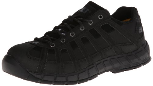 Caterpillar Women's Switch Steel Toe Work Shoe,Black,9.5 W US by Caterpillar