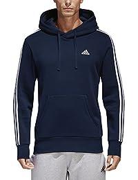 Men's Essentials 3-Stripe Pullover Hoodie