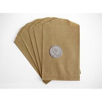 Fabulous Amazon.com: - 100 - Flat Glassine Wax Paper Bags - 3in x 5 1/2in  EO94