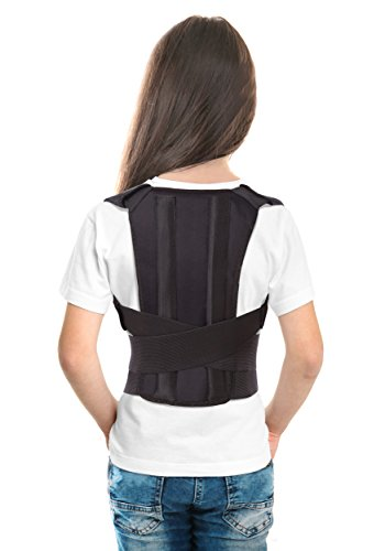 TOROS-GROUP Posture Corrector Back Support Brace for Kids, Teenagers & Young Adults (Young Belt)