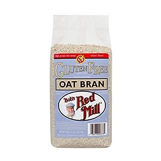 Gluten Free Oat Bran by Bob's Red Mill, 18 oz (Pack of 4)