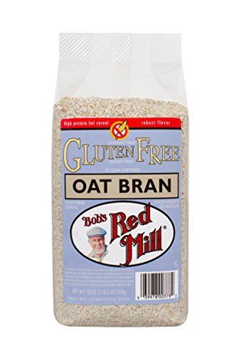 - Bobs Red Mill Gluten Free Oat Bran, 18 Ounce