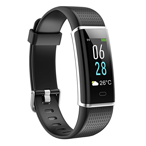 Mpow Fitness Tracker HR, Color Screen Activity ...