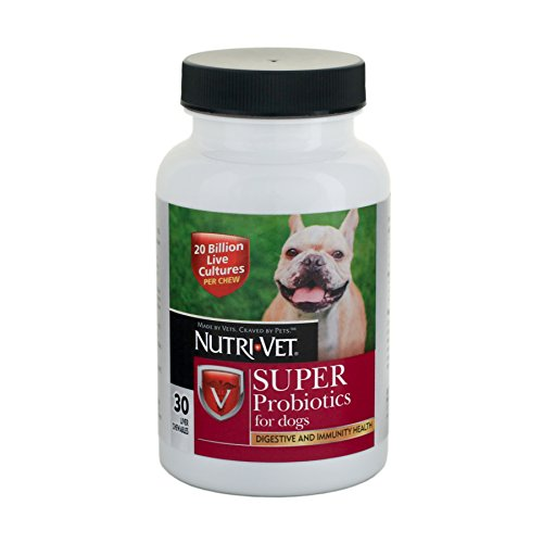 Nutri-Vet Super Probiotics Chewables, 30 Count Review