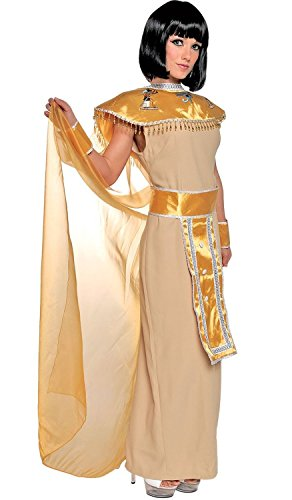 Adult Nile Goddess Cleopatra Costume (Size:medium 8-10)