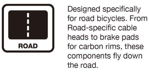 Jagwire Road Pro S Dry Insert Black//Yellow