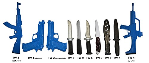 Demonstrator/ Training Weapons – Plastic and Rubber – 6 Options (Straight Rubber Knife (TW-5))