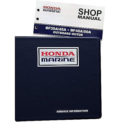 Honda BF35 BF40 BF45 BF50 A Model Marine Outboard Service Repair Shop Manual
