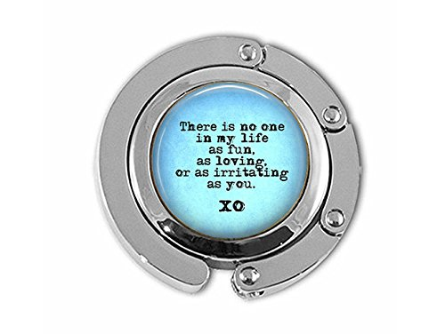 Snarky Quote Hanger - Sibling Gift - There is No one in My Life as Fun, as Loving, as irritating as -