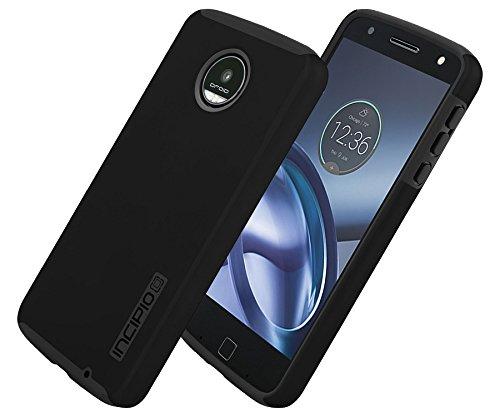 Incipio MT-388-BLK Motorola Moto Z Play DualPro Case - Black/Black