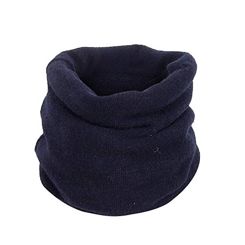 Cozy Acrylic Cashmere Scarves - Fheaven (TM) Infinity Scarf,Lovers Men Women Acrylic Snood Scarf Neck Warmer Beanie Hat Ski Multi Use (Blue)