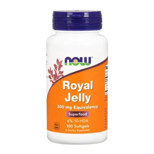 NOW Foods - Royal Jelly 300 mg 100 Sgels (Pack of 2) ()