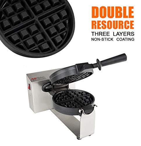 Belgium Waffle Maker Professional for Amazing Belgian Waffles) (Belgian Waffle) by ALDKitchen (Image #2)