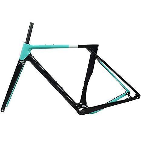 Tideace 2019 - Marco de Freno para Bicicleta (Carbono, 700 x 40C ...