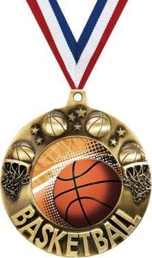 Baloncesto medallas – 2.25