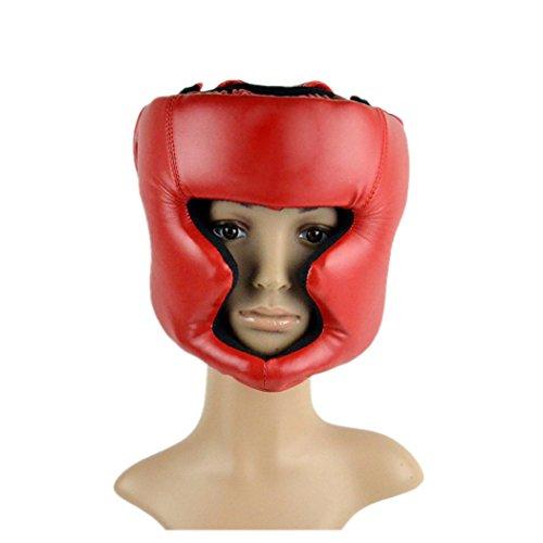 eshion Boxing Helmet Closed Type Boxing Head Guard Headgear Face Protector Sparring MMA Muay Thai Kick Brace Head Protection