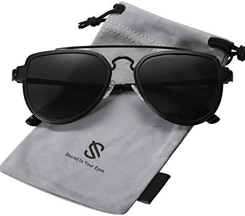 SOJOS Fashion Polarized Sunglasses Mirrored product image