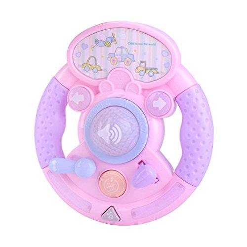 STOBOK Baby Kids Musical Toys Frühe Pädagogische Intelligente Spielzeug Spiele Lenkrad Klavier Spielzeug