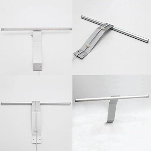 BiuTeFang Baño led espejo faros aluminio a prueba de humedad aparador baño espejo armario luz 31.5cm: Amazon.es: Iluminación