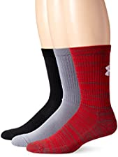 Under Armour Men's Twisted Crew Socks (3 Pack)
