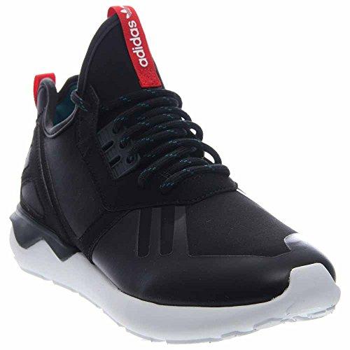 Adidas Menns Rørformet Løpe Veve Cblack, Tomat, Ftwwht S82651 Svart / Tomat