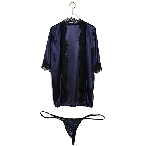 Price comparison product image JIANGTAOLANG Women Sexy Lace Sleep Babydoll Nightdress Sleepwear Soft Solid Summer Underwear DB L