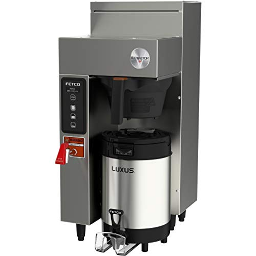 Fetco CBS-1131 V+ Extractor Single 1.0G Automatic Coffee Brewer 120V ()