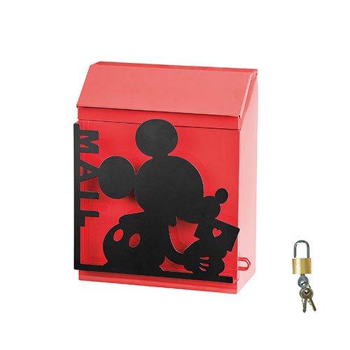 郵便ポスト 郵便受け シルエットポスト ミッキー SILHOUETTE POST SD-6061-1000 B07BZCWH2V 10390