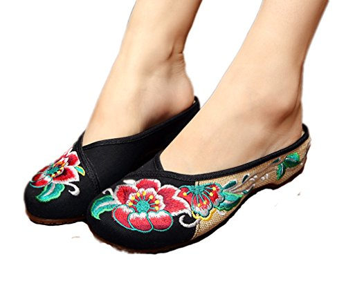 AvaCostume Chinese Oxfords Walking Slippers