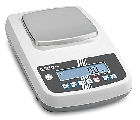 Báscula de precisión de alta calidad [Kern EWJ 6000 – 1 M] interna con