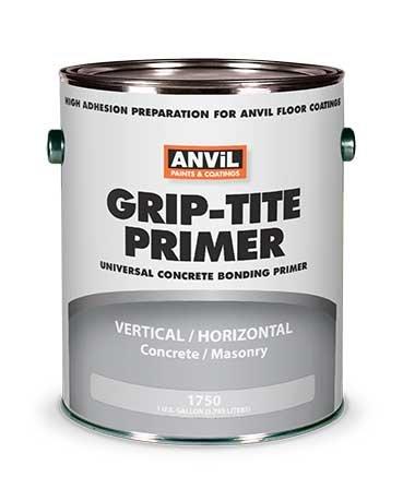 Anvil High Adhesion Grip-Tite WB Bonding Primer #1750 - Preparation for Anvil Floor Coatings - 1 Gallon (Block Anvil)