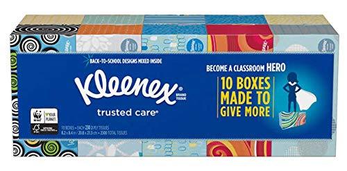 Kleenex Ultra Soft Facial Tissues (10 Boxes Everyday 230 Per Box)