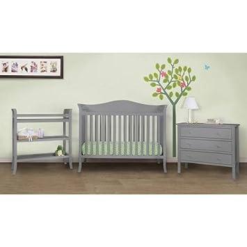 Amazon.com : Baby Mod Bella 4-Piece Nursery Set, Grey : Baby