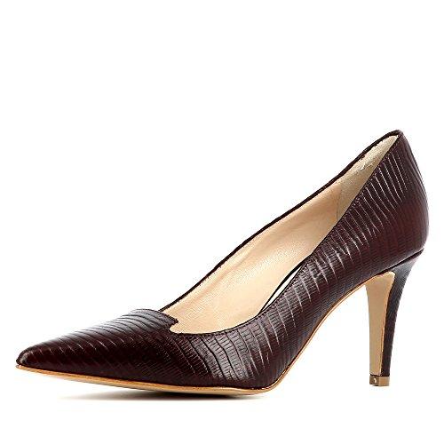 Col Tacco Shoes Donna Jessica Scarpe Bordeaux Evita xCITqtRwt